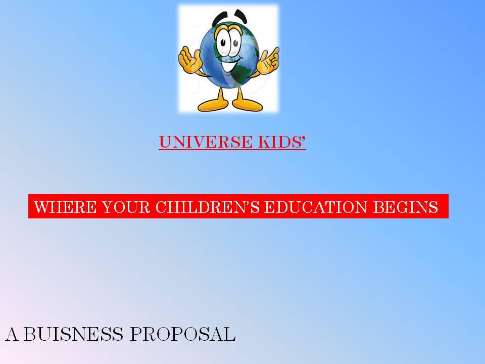 Universe Kids Freanchise